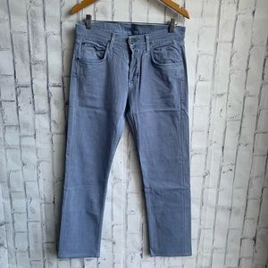 Hudson Byron Slim Fit Straight Denim Jeans Pants